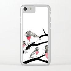 Grosbeak - sketch Clear iPhone Case