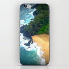 Drop Me Into Paradise iPhone & iPod Skin