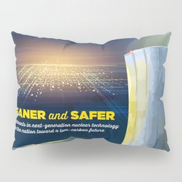 US Department of Energy LPO Poster - Advanced Nuclear Energy (2016) Pillow Sham