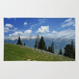 spring mountain Rug