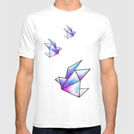Origami Pastels T-shirt