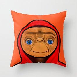 Sporty ET Throw Pillow