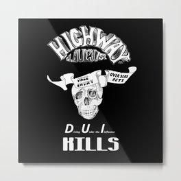 Highway Slaughter Metal Print