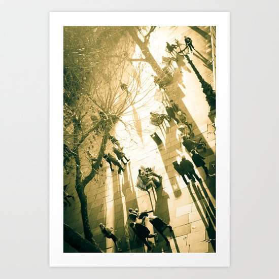 South Bank with a view Art Print