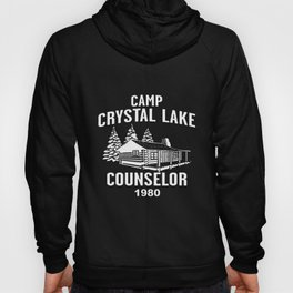 Camp Crystal Lake Counselor Friday 13Th Jason Voorhees Freddy Camp T-Shirts Hoody