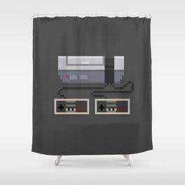 NES 8-Bit Console Shower Curtain