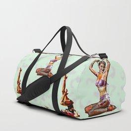 Zombie Pin Ups Duffle Bag