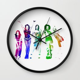 Spice Girls. Wall Clock