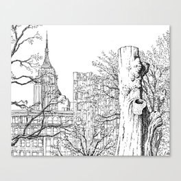 Madison Square Park Canvas Print