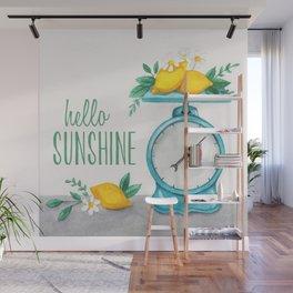 Lemon Kitchen Scale 1 Wall Mural