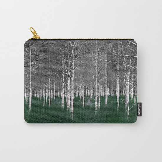 The woods are lovely, dark and deep part 1 Carry-All Pouch