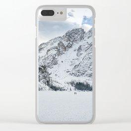 Lago di Braies Clear iPhone Case