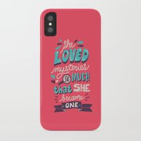 paper towns iPhone & iPod Cases featuring Paper Towns: Mysteries by Risa Rodil