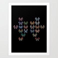 Vivillon Art Print