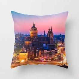 AMSTERDAM 04 Throw Pillow