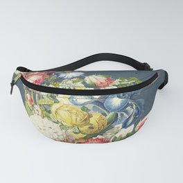 Floral Tribute to Louis McNeice Fanny Pack