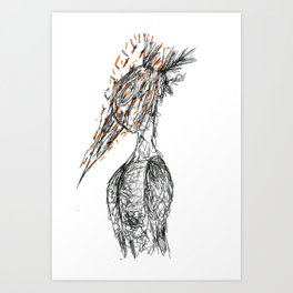 Capitan A Art Print