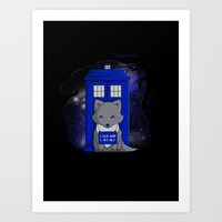 bad wolf Art Prints featuring Bad Wolf by Perdita