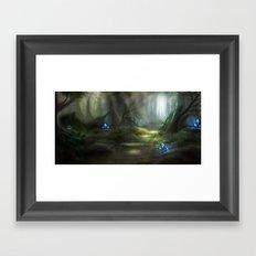Deep Forest Framed Art Print