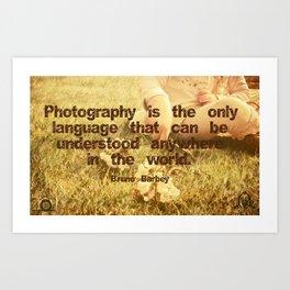 Photography Art Print