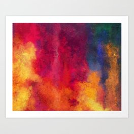Colorful Thoughts 01 Art Print