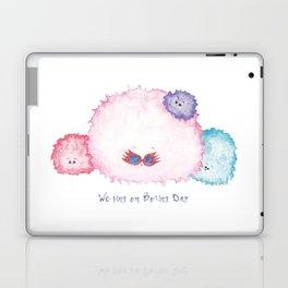 A pygmy puff wearing Luna Lovegood spectrespecs Laptop & iPad Skin