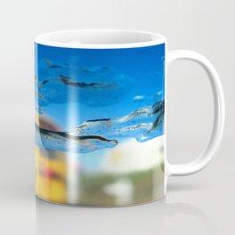 yellow bus and ice photography Coffee Mug