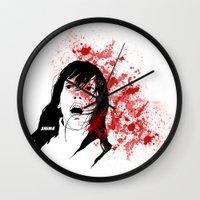 the shining Wall Clocks featuring Shining by SeanAndOnAndOn