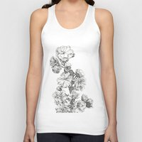 study Tank Tops featuring Flower Study by Trisha Thompson Adams