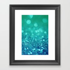 Bubble Party Framed Art Print
