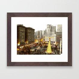 A Very SF Christmas Framed Art Print