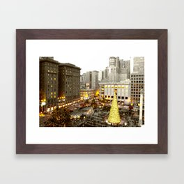 A Very SF Christmas Framed Art Print