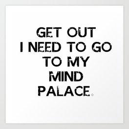 Mind Palace Art Print