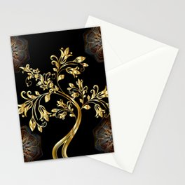 Tree and Mandelas Stationery Cards