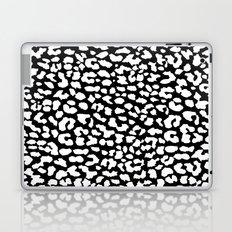 White Black Leopard Laptop & iPad Skin