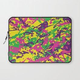 Bright Urban Camouflage Laptop Sleeve