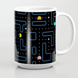 Pac-Man Retro Arcade Gaming Design Coffee Mug