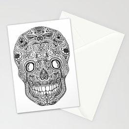 Sugar Skull Stationery Cards