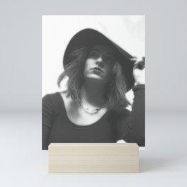 LARA LAY - On her Way in Italy Mini Art Print