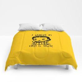 I believe in Ellen G. white Comforters