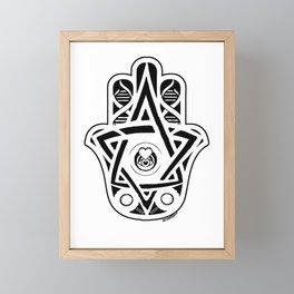 Colleen's Hamsa Framed Mini Art Print