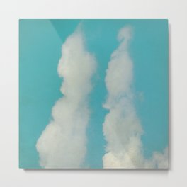 Mr.&Mrs. Cloud Metal Print