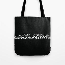 Vowels 002 Tote Bag