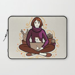 Business cat Laptop Sleeve