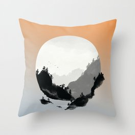 [9.23—9.27] Thunder Ceases Throw Pillow