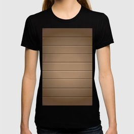 Wood Table Pattern T-shirt