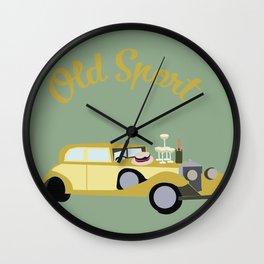 Old Sport Wall Clock
