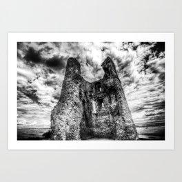 Hadleigh Castle Art Print