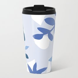 Daisy Blues Metal Travel Mug
