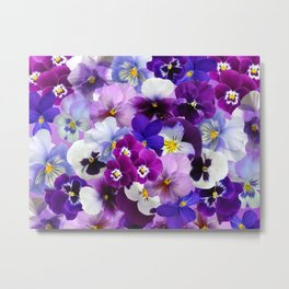 Carpet of flowers 3. Metal Print
